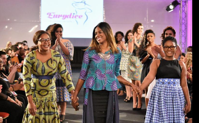 Eurydice a représenté le Gabon pendant la Fashion Week de Paris2017!!!!!